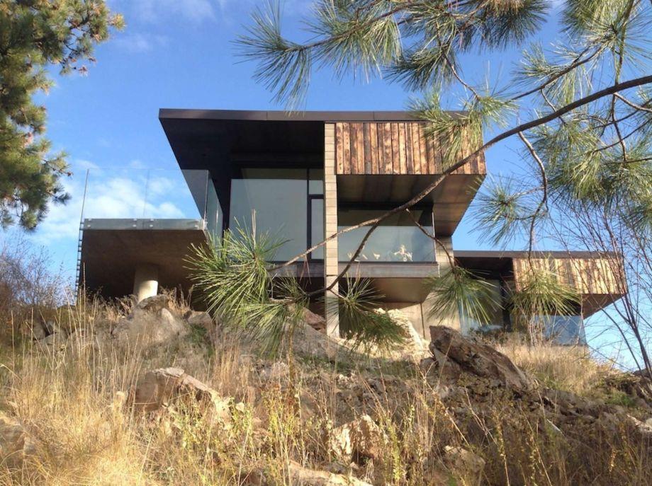 dachy plaskie nowoczesny dom
