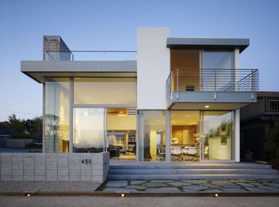 dach plaski nowoczesny dom
