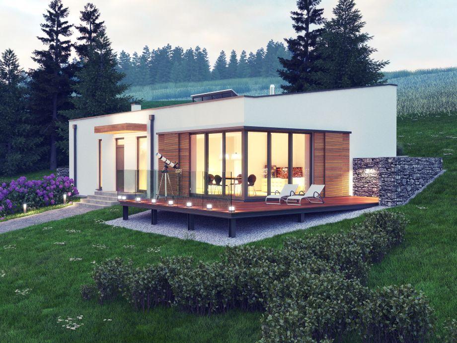 projekt parterowego domu
