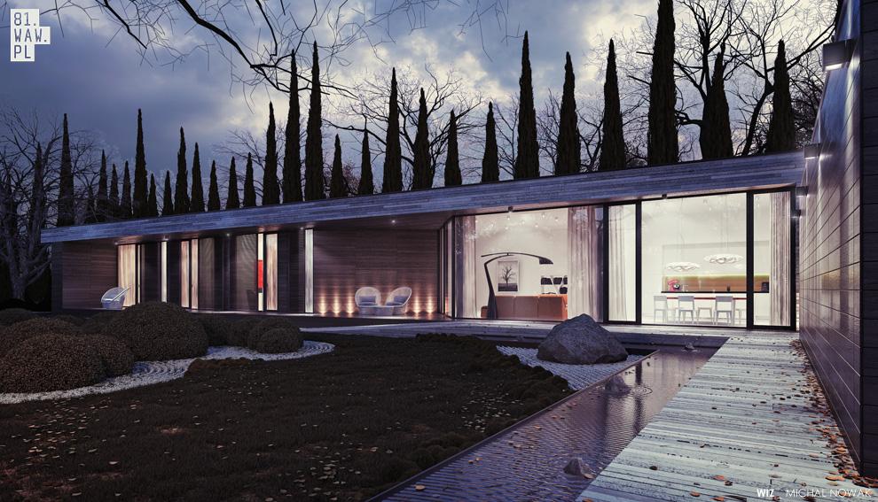 dom horyzontalny