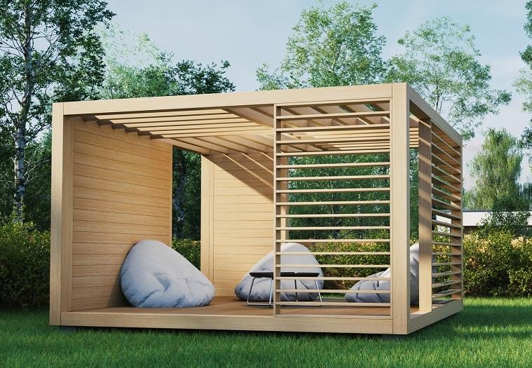Nowoczesne Altany Ogrodowe Idea Domu
