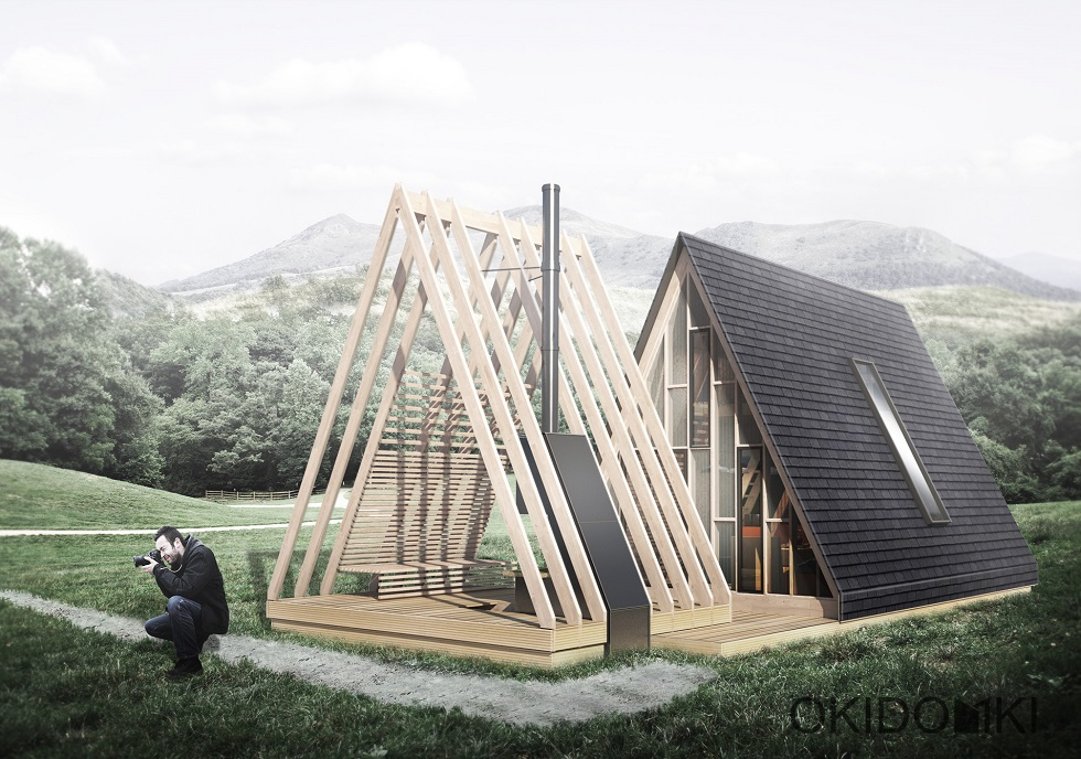 Projekt Domku Letniskowego Typu Brda Idea Domu