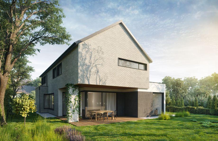 prosty nowoczesny dom