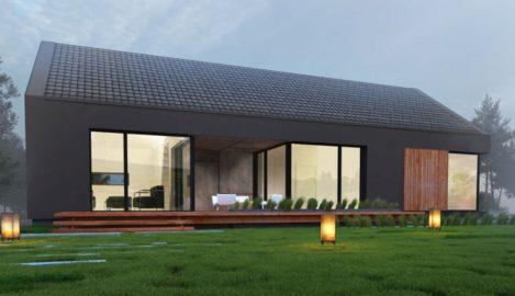 projekt domu rekreacyjnego