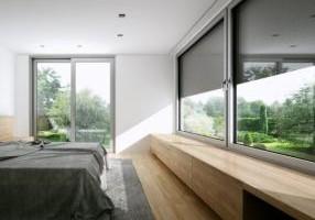 Okna pionowe aluminiowe